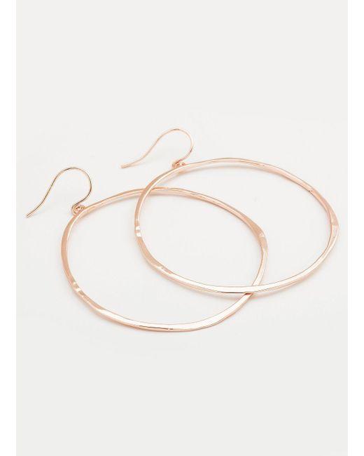 Gorjana & Griffin - Pink G Ring Earrings - Lyst