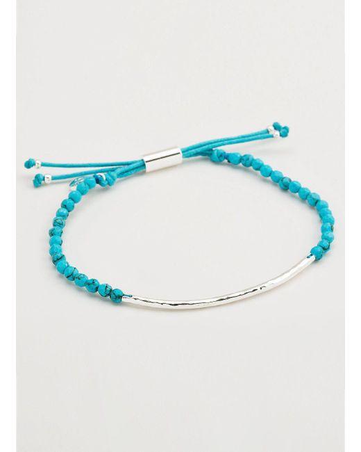 Gorjana & Griffin - Metallic Power Gemstone Turquoise Bracelet For Healing - Lyst