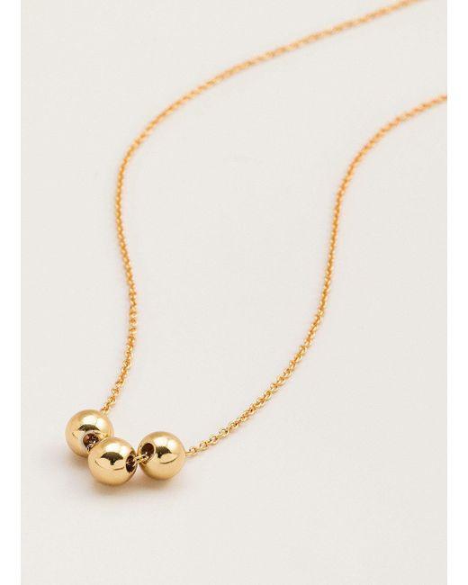 Gorjana & Griffin - Metallic Newport Charm Adjustable Necklace - Lyst