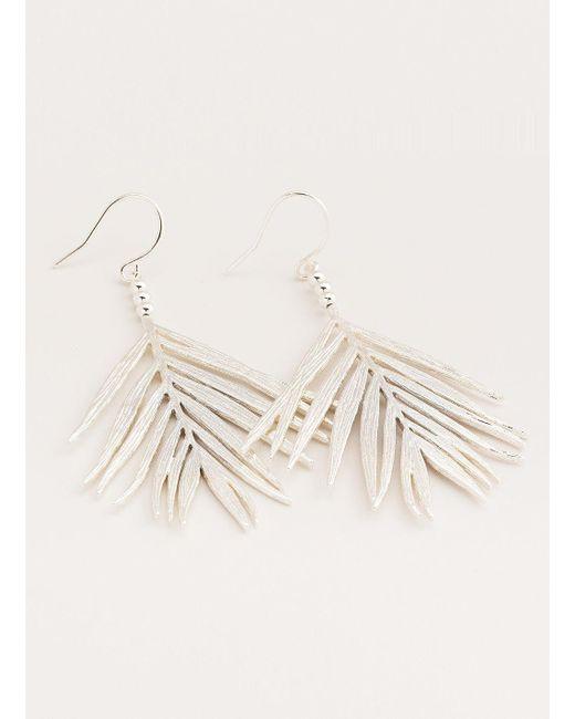 Gorjana & Griffin - Metallic Palm Drop Earrings - Lyst
