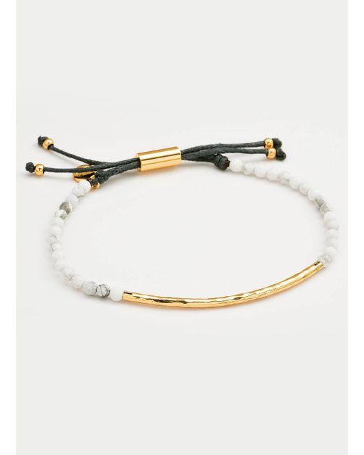 Gorjana & Griffin - Metallic Power Gemstone Howlite Bracelet For Calming - Lyst