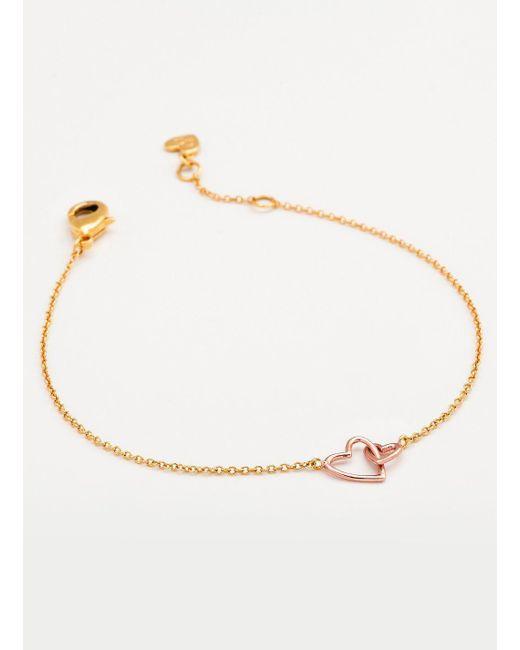 Gorjana & Griffin - Multicolor Mini + Me Interlocking Hearts Adult Bracelet - Lyst