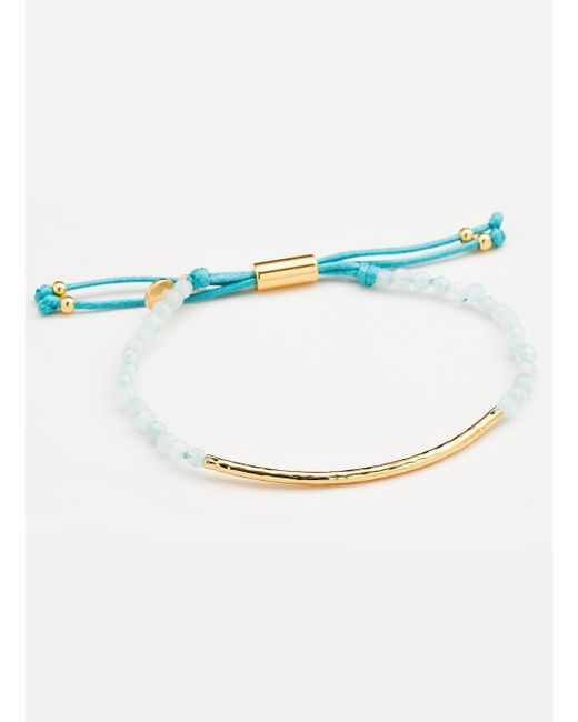 Gorjana & Griffin - Metallic Power Gemstone Aquamarine Bracelet For Truth - Lyst