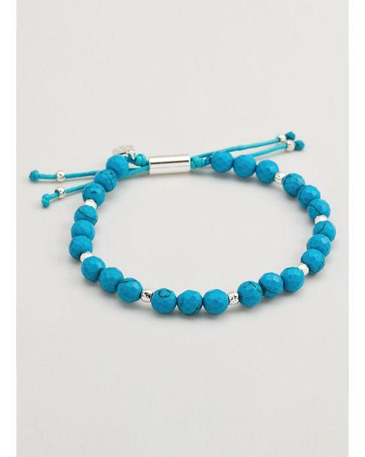 Gorjana & Griffin - Metallic Power Gemstone Turquoise Beaded Bracelet For Healing - Lyst