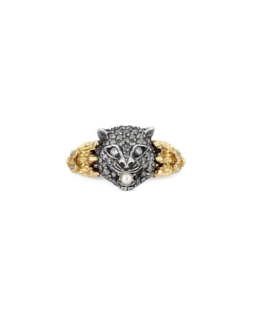 Gucci - Metallic Le March�� Des Merveilles Ring - Lyst