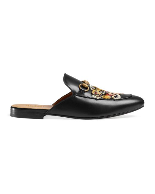 Gucci - Black Zapatos slippers Princetown for Men - Lyst