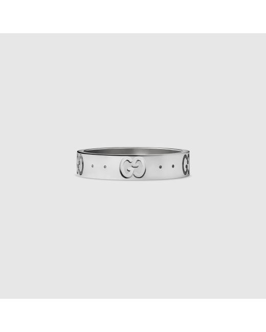 Gucci   White Icon Thin Band   Lyst