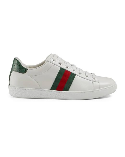 Gucci - Green New Ace Sneaker - Lyst