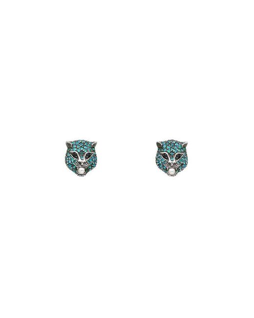 Gucci - Blue Le Marché Des Merveilles Earrings - Lyst