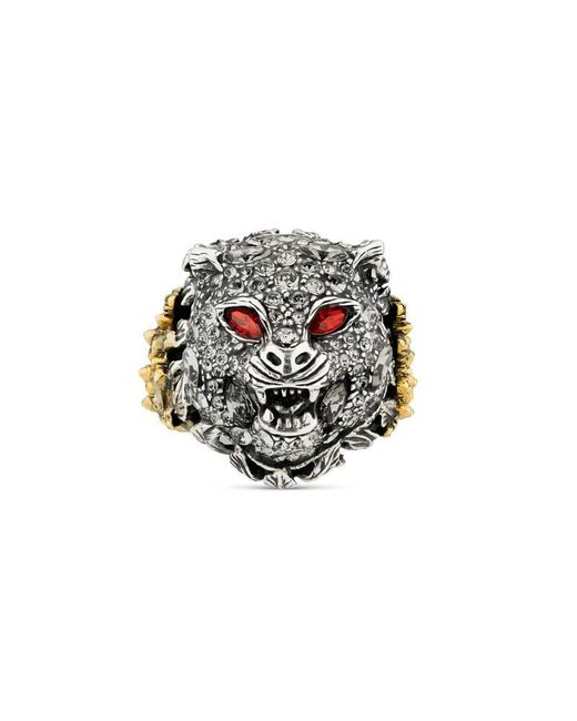 Gucci | Metallic Le Marché Des Merveilles Ring for Men | Lyst