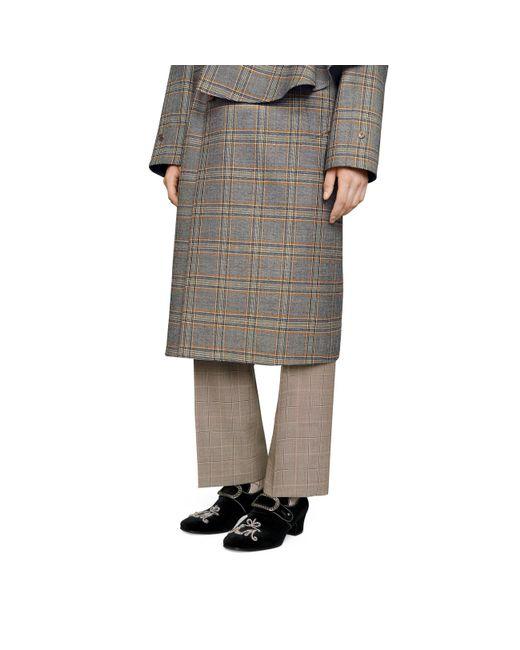 df64b80c67c ... Gucci - Black Velvet Loafer With Jewel Buckle for Men - Lyst