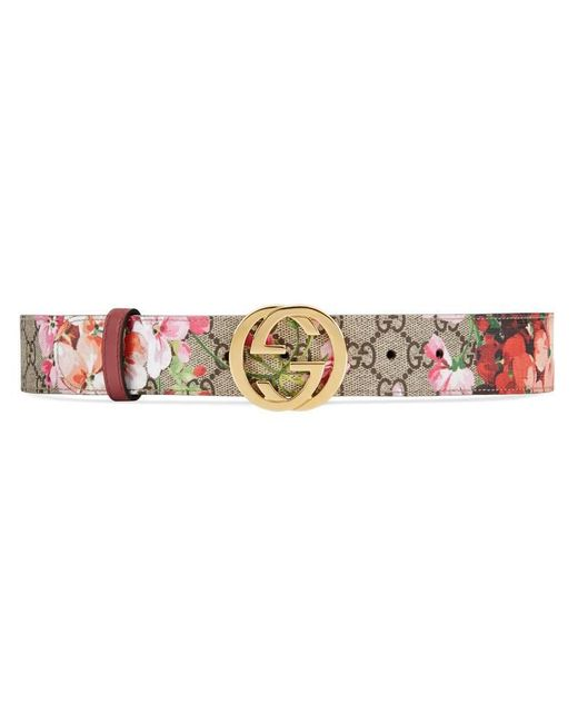 Gucci - Multicolor Gg Blooms Belt - Lyst