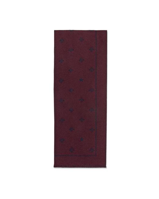 Gucci - Purple Écharpe en laine avec abeilles et étoiles for Men - Lyst