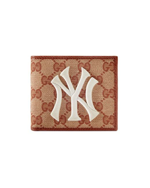Gucci - Multicolor Original GG Canvas Wallet With New York Yankees Patch��� for Men - Lyst