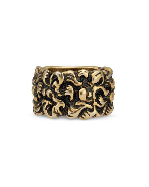 Gucci | Metallic Lion Mane Ring | Lyst