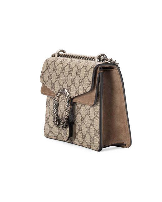106e15724 ... Gucci - Multicolor Dionysus GG Supreme Mini Bag - Lyst ...