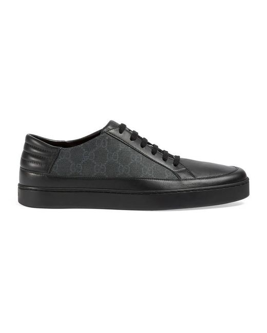 Gucci | Gray Gg Supreme Sneaker for Men | Lyst