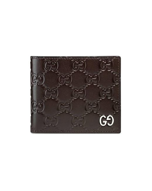 Gucci | Brown Signature Wallet for Men | Lyst