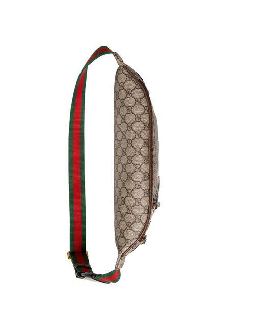 f15c78bbc18a ... Gucci - Multicolor Courrier GG Supreme Belt Bag for Men - Lyst ...