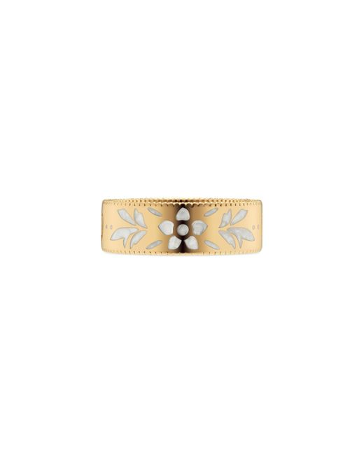 Gucci - Metallic Icon Ring In Yellow Gold - Lyst