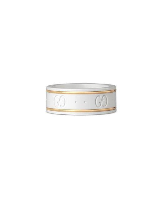 Gucci - Metallic Icon Ring In Yellow Gold - Lyst
