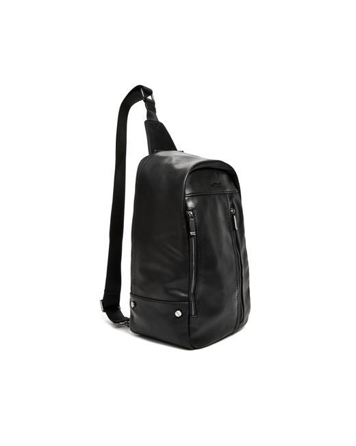 Guess Max Sling Bag in Black for Men | Lyst