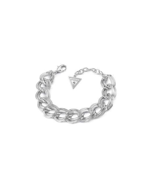 Guess | Metallic Dream Girl Braided Bracelet | Lyst