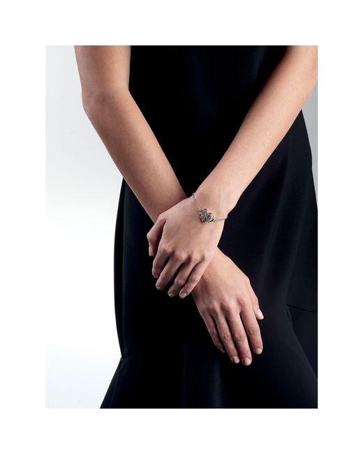 Guess | Metallic Wrap Me Up Bracelet With Rhinestones | Lyst