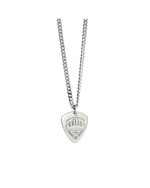 Guess | Metallic Coast To Coast Plectrum Necklace for Men | Lyst