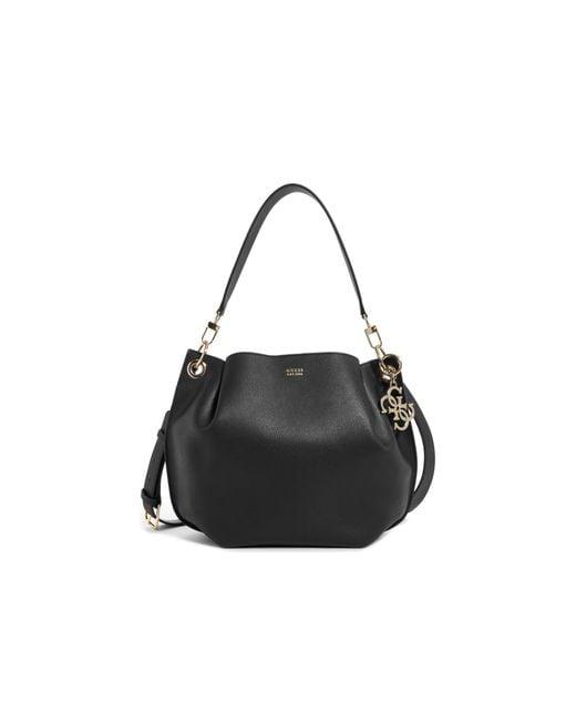 175d33821a55 Guess – Black Digital Hobo Bag – Lyst …