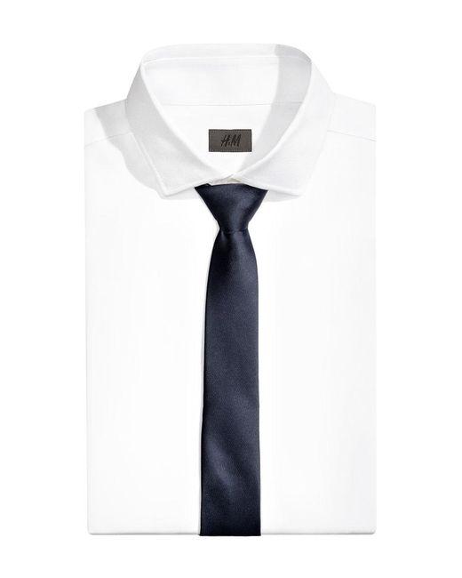 H&M | Blue Satin Tie for Men | Lyst