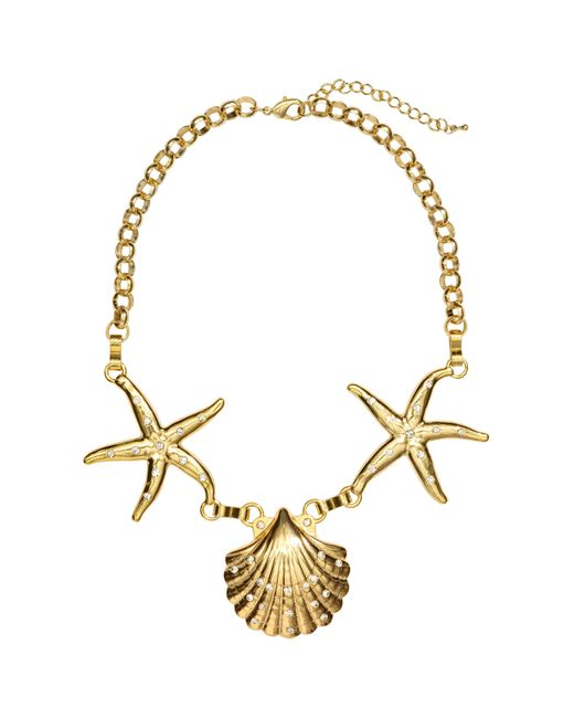 H&M - Metallic Short Necklace - Lyst
