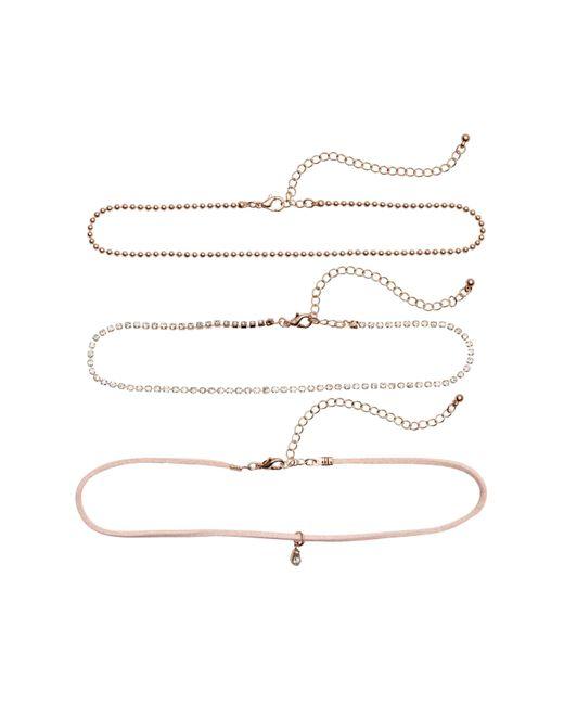 H&M | Metallic 3-pack Chokers | Lyst