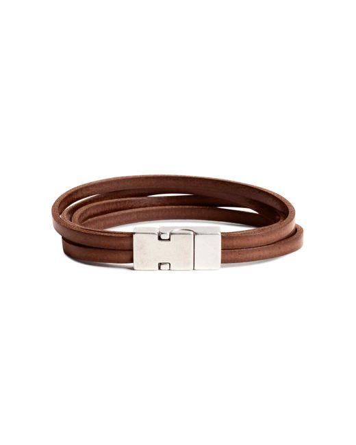 H&M | Brown Multistrand Bracelet | Lyst