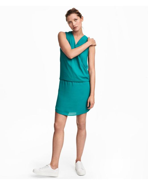 H&M | Blue Mama Nursing Dress | Lyst