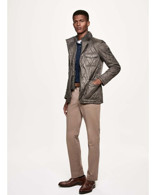 Hackett | Multicolor Quilted Technical Jacket for Men | Lyst