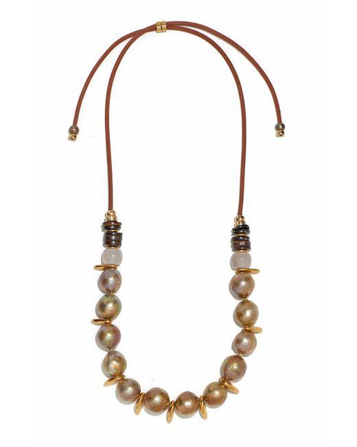 Lizzie Fortunato | Multicolor Pippa Pearl Necklace | Lyst