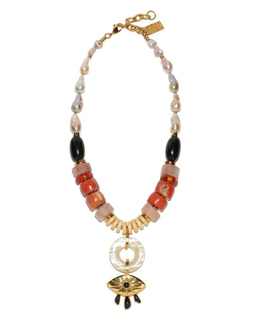 Lizzie Fortunato | Multicolor Capri Necklace | Lyst
