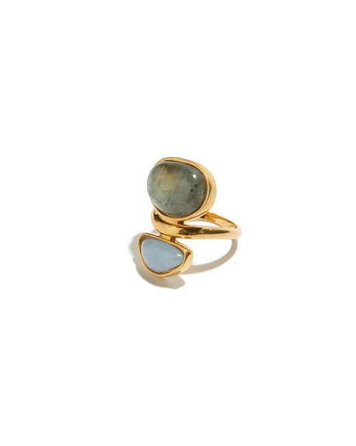 Lizzie Fortunato | Metallic Valley Ring In Labradorite | Lyst
