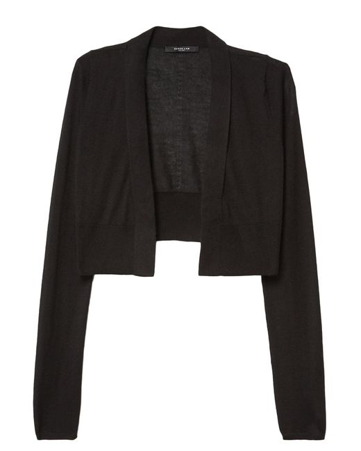Derek Lam - Long Sleeve Cardigan In Black - Lyst