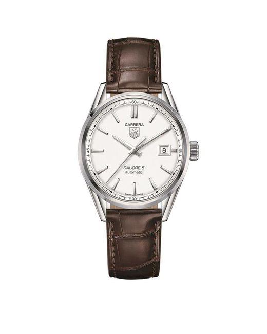 Tag Heuer - Metallic Carrera Calibre 5 Quartz Watch - Lyst