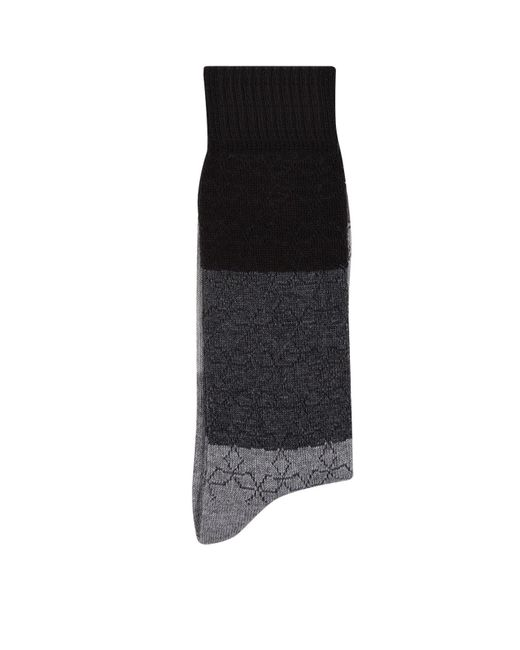 Paul Smith - Black Colour Block Star Socks for Men - Lyst