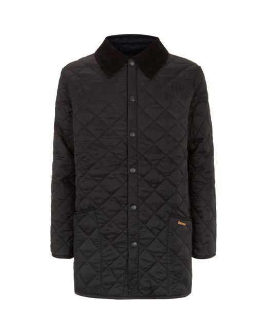 Barbour - Black Liddesdale Quilted Jacket for Men - Lyst