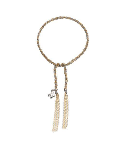 Carolina Bucci - Metallic Virtue Charm Lucky Bracelet - Lyst