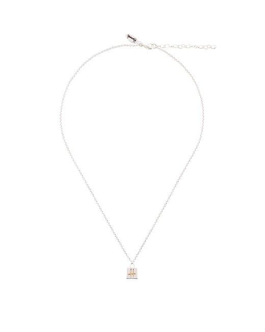 Harrods - Metallic Silver Plated Westie Dog Necklace - Lyst