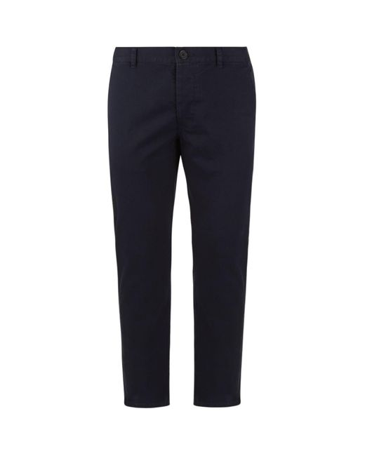 Sandro - Blue Chino Trousers for Men - Lyst