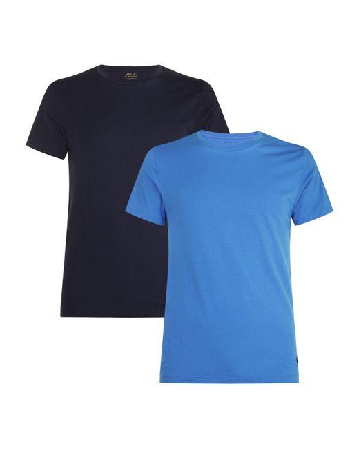Polo Ralph Lauren   Blue Classic T-shirt (pack Of 2) for Men   Lyst