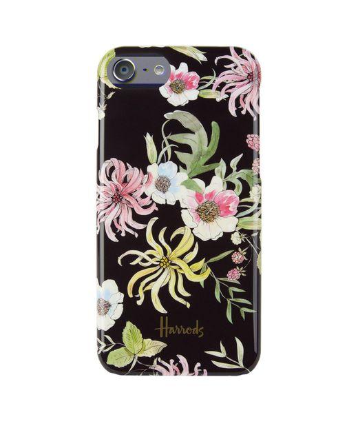 Harrods - Black Floral Iphone 7/8 Case - Lyst