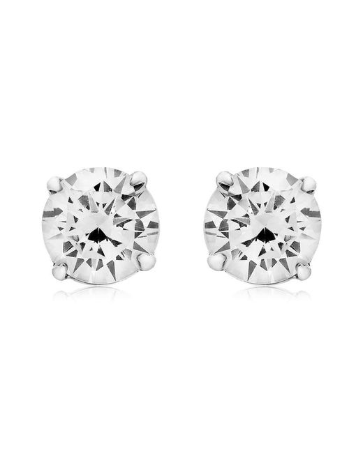 Carat* | Metallic 0.5ct Eternal Stud Earrings | Lyst