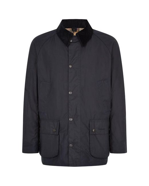 Barbour   Blue Ashby Waxed Jacket for Men   Lyst